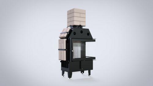 DEFRO HOME - nowoczesne wkłady kominkowe i kominki Akumulacja Thermoblock - 1 z 12