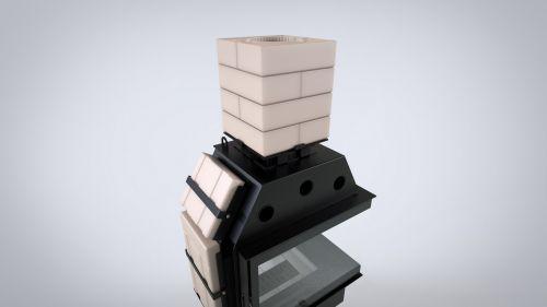 DEFRO HOME - nowoczesne wkłady kominkowe i kominki Akumulacja Thermoblock - 2 z 12