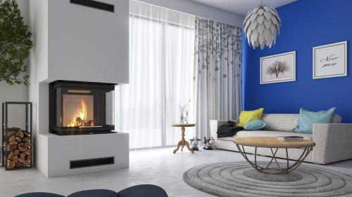 DEFRO HOME - nowoczesne wkłady kominkowe i kominki Wkłady do zabudowy - 18 z 47