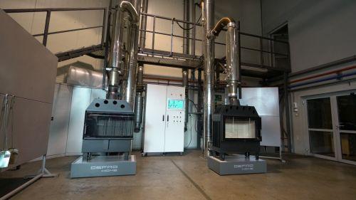 DEFRO HOME - nowoczesne wkłady kominkowe i kominki Labolatorium badawcze DEFRO - 4 z 15